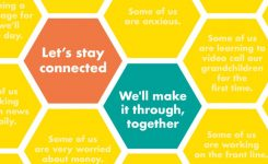 #Inthistogether Wellbeing campaign